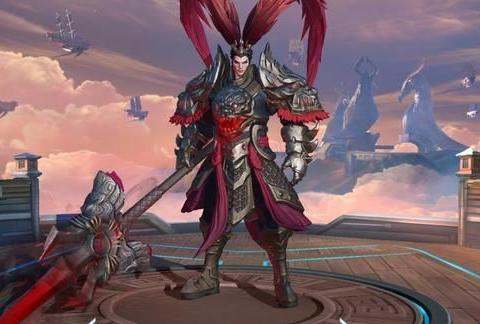 吕布晋级为战士之王,这样出装,残血不死,中期就能一打三