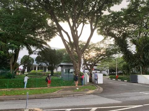 疫情下的新加坡政府中小学入学考试,现场和往年差别竟这么大!