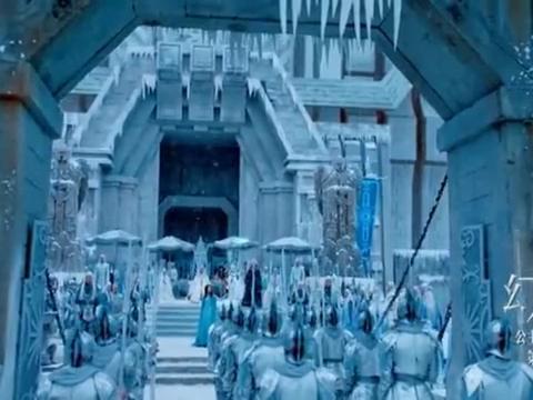 幻城:人鱼公主唱起海妖之歌,直接将雪变成武器,画面太美了