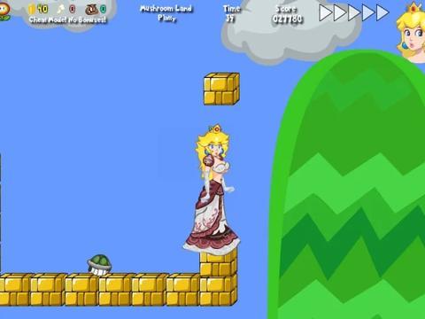在国外很火的同人游戏《桃子公主不可告人历险记》被任天堂干掉