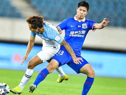 钱杰给防守失误,点球射失,上海申花被广州富力淘汰