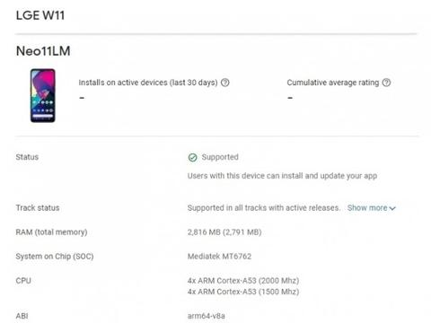 LG入门级智能手机曝光,已获得FCC认证