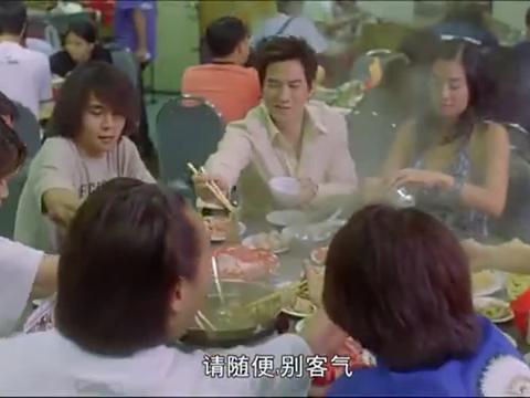 张家辉自称新晋赌王,赢钱后在餐厅潇洒,被王晶老爸教做人