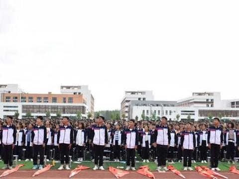 宛东实验高中2020年秋季开学典礼