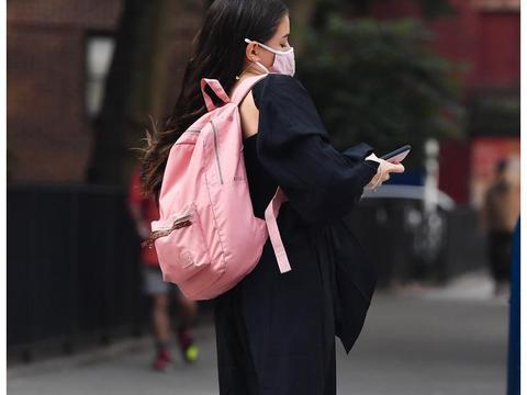 明星宝宝!苏瑞·克鲁斯纽约外出新街拍
