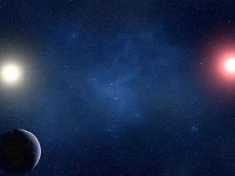 距离太阳系最近的黑洞被发现,有2颗恒星围绕它运转,抬头可见