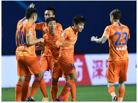 中超5轮首胜!鲁能2比1双杀深圳,佩莱传射段刘愚进球,郜林点射