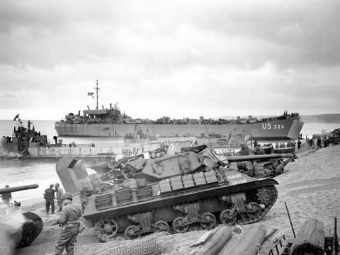 二战期间,盟军在诺曼底登陆,德军去哪了?