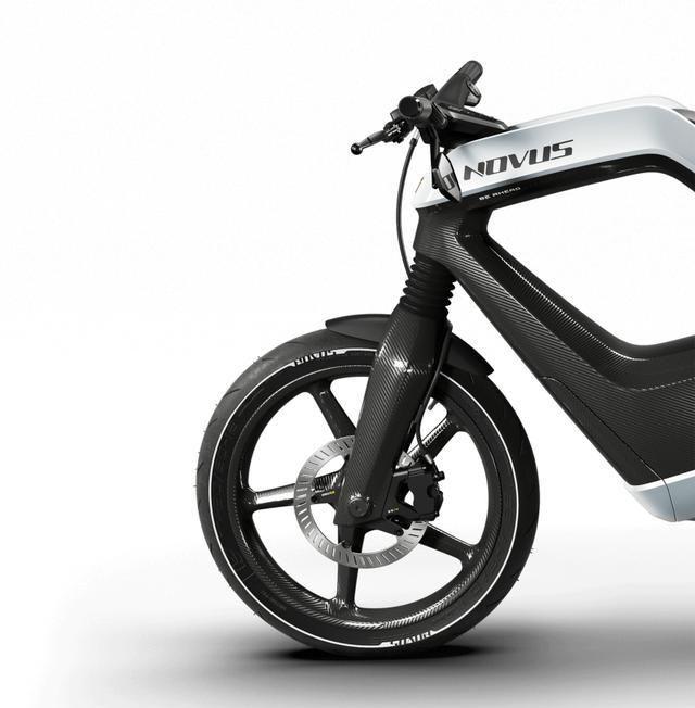 超轻碳纤维车身电摩 NOVUS发布,仅重75kg!售价惊人!