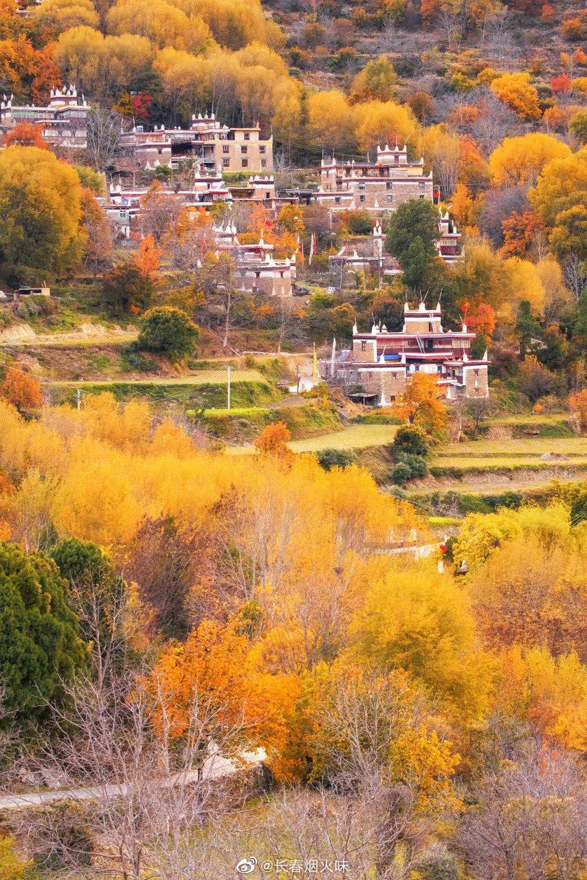 四川·丹巴藏寨 这里被《中国国家地理》评选为中国最美乡村之一
