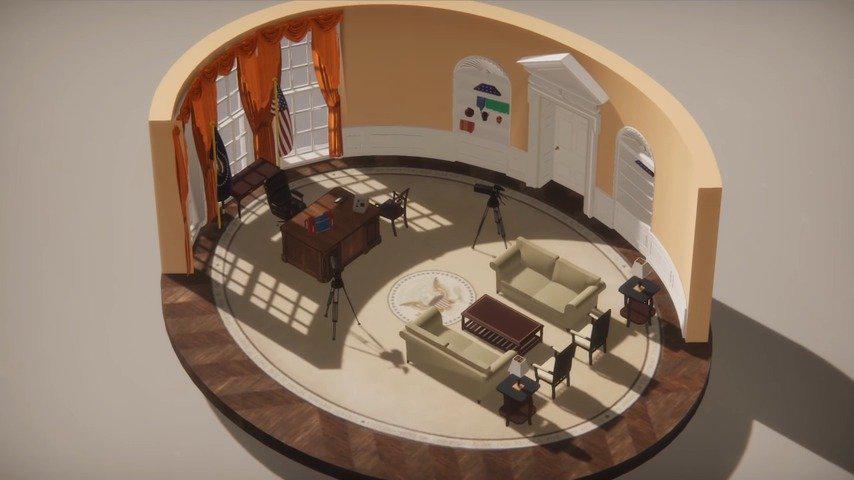 休闲模拟游戏《收拾房间模拟器》现已在Steam开启抢先体验……
