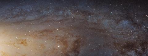 15亿像素的仙女座星系,哈勃望远镜拍摄的迄今为止最清晰的照片!