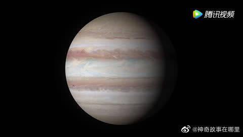哈勃太空望远镜眼中的木星!美
