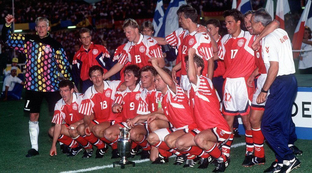 欧足联:1992欧洲杯决赛,丹麦vs德国全场集锦