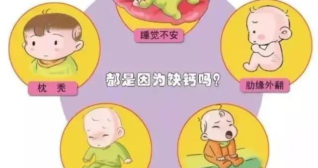 别只急着补钙,这种微量元素缺乏,可能让您家宝宝出现佝偻病