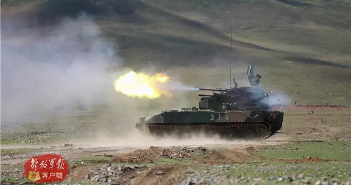 """燃爆!西藏军区某旅实弹演习""""大片""""来袭"""