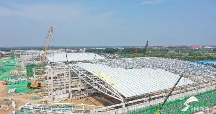 大河奔腾 打卡世界级地标!济南绿地国际博览城将建国内展览面积最大会展中心
