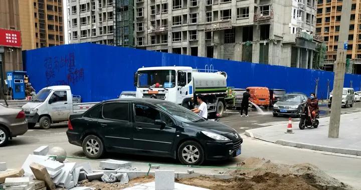 石家庄桥西区润德天悦城云锦园西门已完成施工
