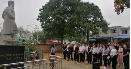 中共渭南市委党校镇(办)班接受廉政文化爱国主义教育