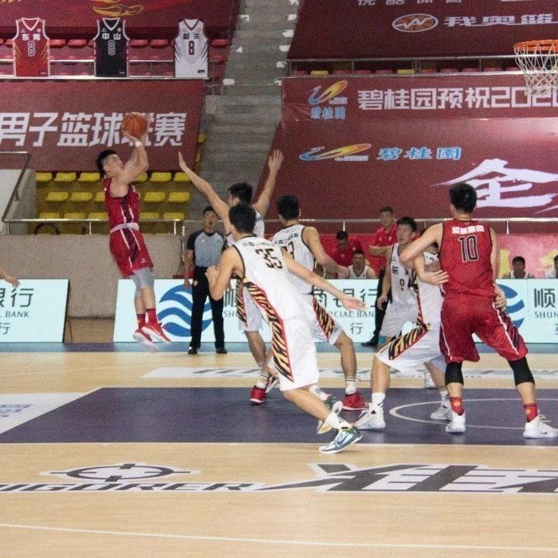 河源队蝉联省男子篮球联赛亚军!