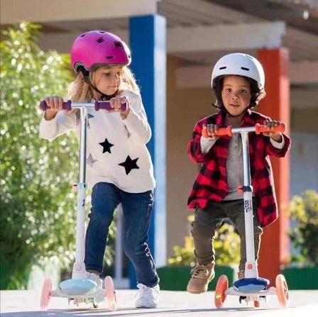"""存摔伤风险,迪卡侬召回16万辆""""缺陷""""儿童滑板车"""
