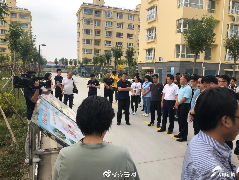 中国梦·黄河情网络主题活动 | 高青黄河滩区迁建社区常盛家园社区
