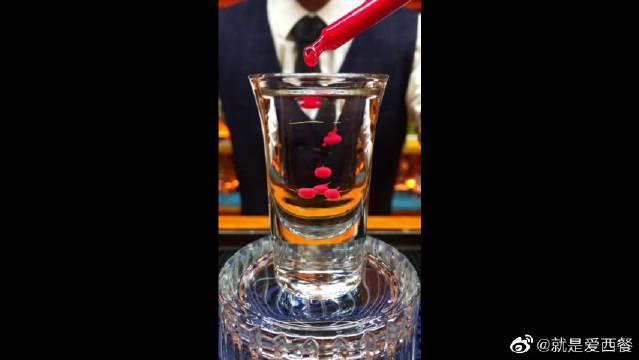 化学鸡尾酒,不一样的眼泪,可可利口酒和爱尔兰奶酒的完美结合!