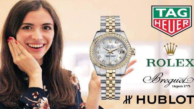 这次去三藩市的名表店逛了一下,试戴了价值200万人民币的手表……
