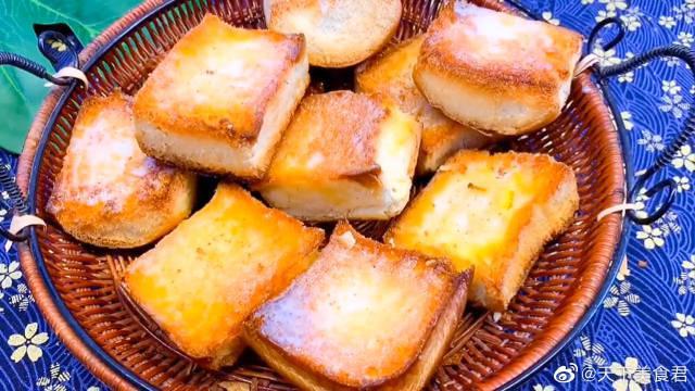 奶油脆面包,安全放心无添加,家人吃了更健康