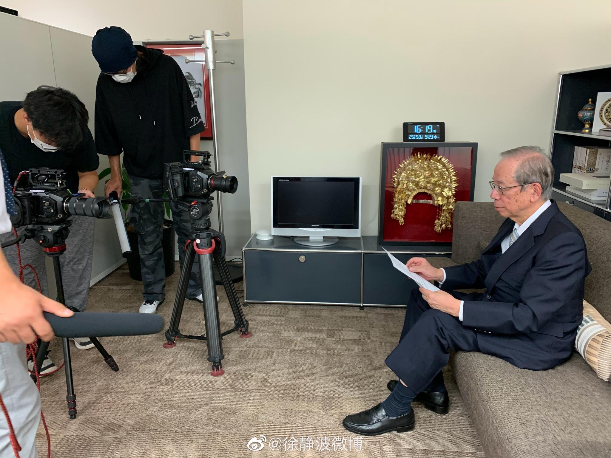 日本前首相福田康夫先生已经84岁……