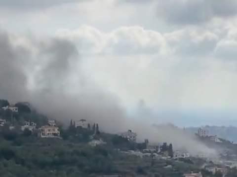 时隔50天之后,黎巴嫩南部再次发生大爆炸,以色列猜测或是军火库