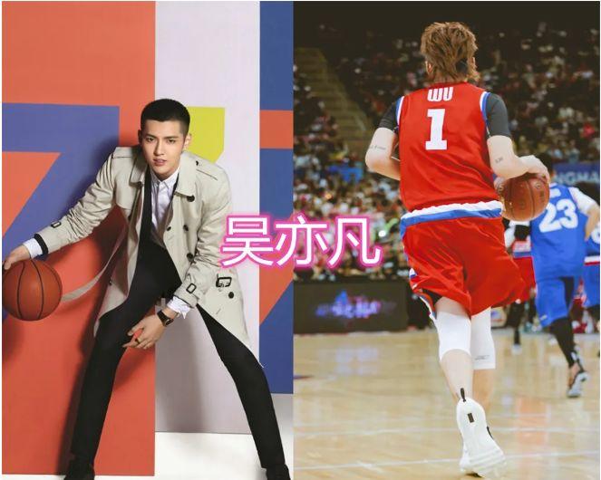 男明星的篮球照,王俊凯、任嘉伦,看到任豪:暗恋的学长即视感