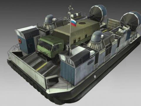 俄罗斯造不出两栖攻击舰上的气垫船?AK47的老东家,正在努力