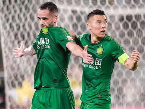 北京国安5-1胜青岛黄海!上海申花旧将瓜林与瓦斯科达伽马解约
