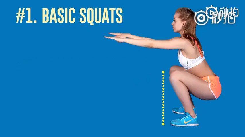 每个动作1分钟,练出优美腿型