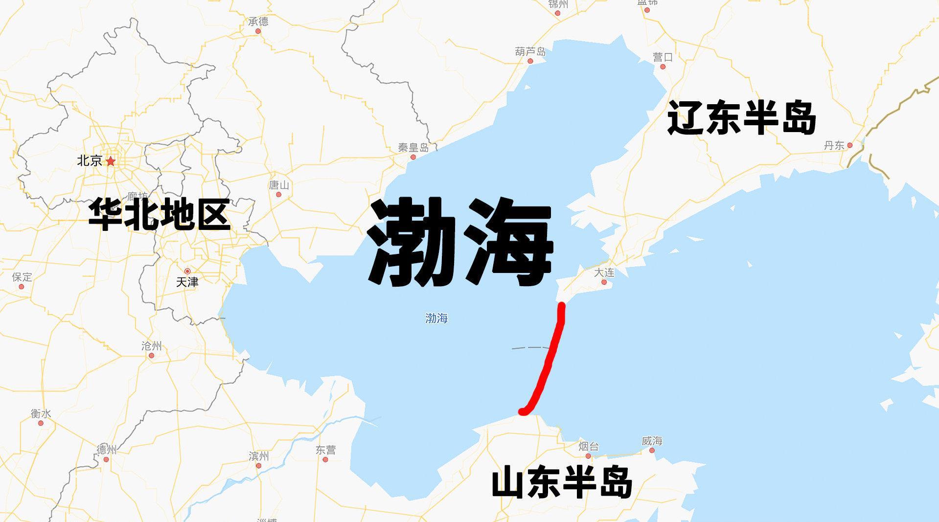 如果将渤海围变成淡水湖,能用来缓解华北干旱?