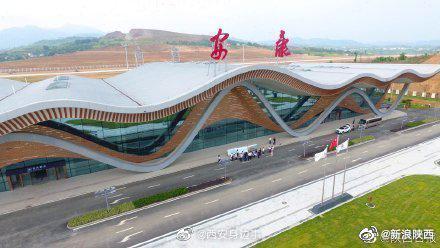 陕西安康机场首航时间确定:25日开通广州—安康航线航班