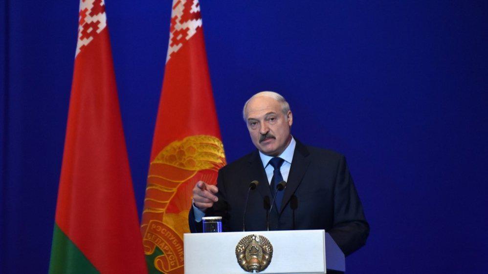 卢卡申科宣誓就任白俄罗斯总统