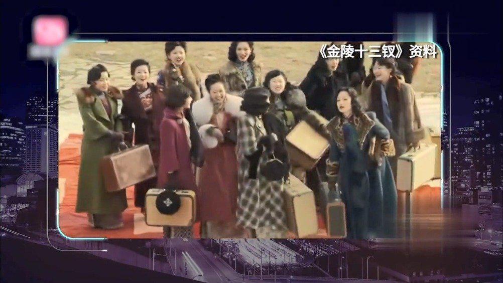 李纯运气很好,上北京电影学院第一年,就演张艺谋《金陵十三钗》