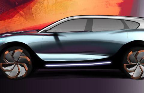 剑指蔚来ES6,岚图首款量产概念车设计图发布