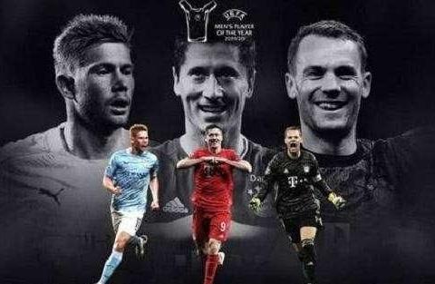 梅西、C罗皆落选!欧足联年度最佳球员!55球射手终结梅罗入选