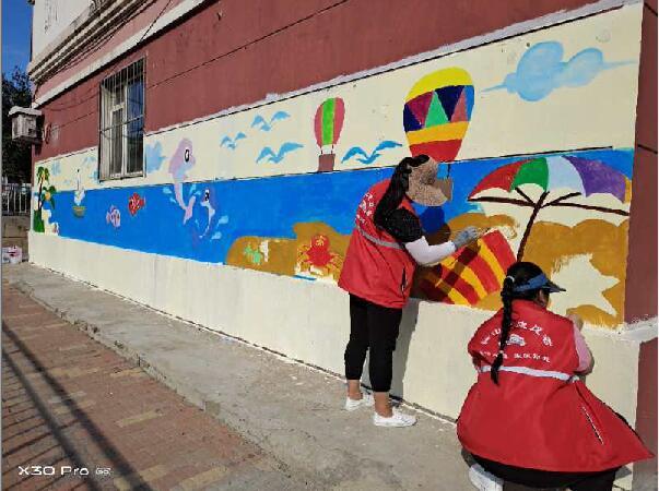 南关中街旧城的彩画装扮