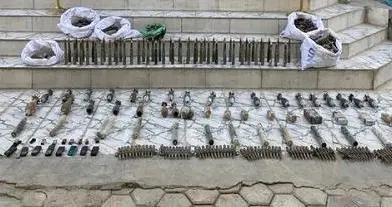 伊拉克缴获极端组织大量爆炸物