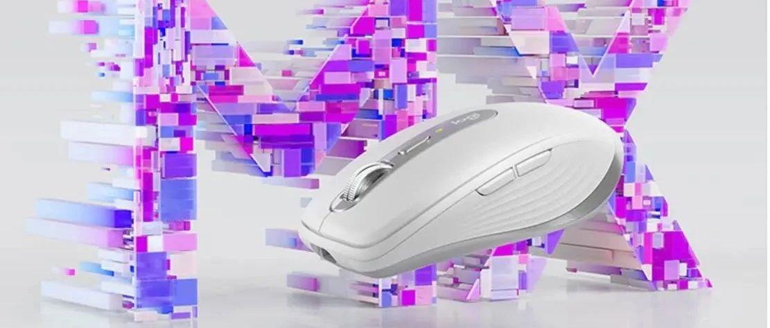 罗技MX Anywhere 3高端无线办公鼠标开售,799元、采用MagSpeed电磁滚轮