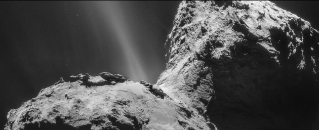 彗星周围竟然出现怪异的紫外线极光!