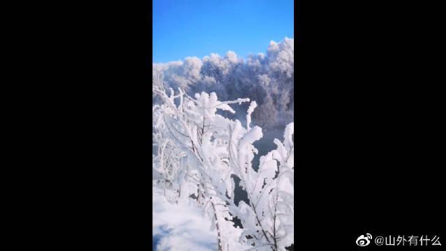 新疆伊犁天鹅泉(地下温泉不结冰,天鹅越冬栖息地)