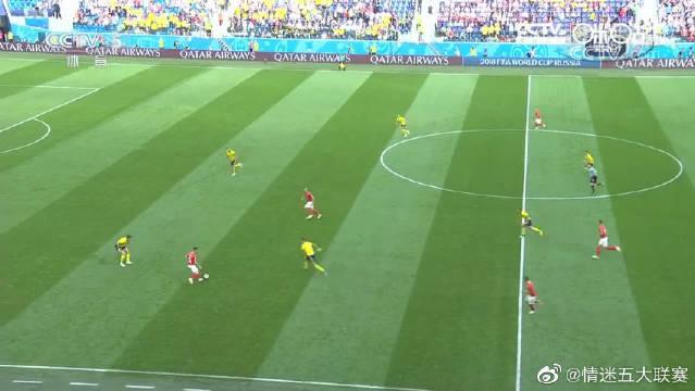 回顾2018年瑞典1-0瑞士,幸运进球制胜