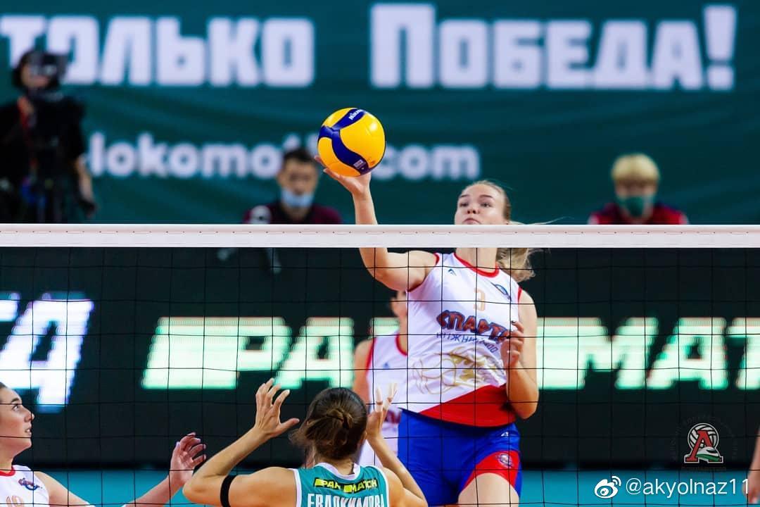 2020-2021俄罗斯女排超级联赛第二轮……