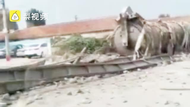 济南一公司发生蒸压釜爆炸事故,致2死3伤