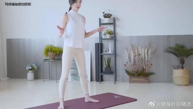 花花老师教你波比跳,全身燃脂塑形增肌,从头瘦到脚的经典体式
